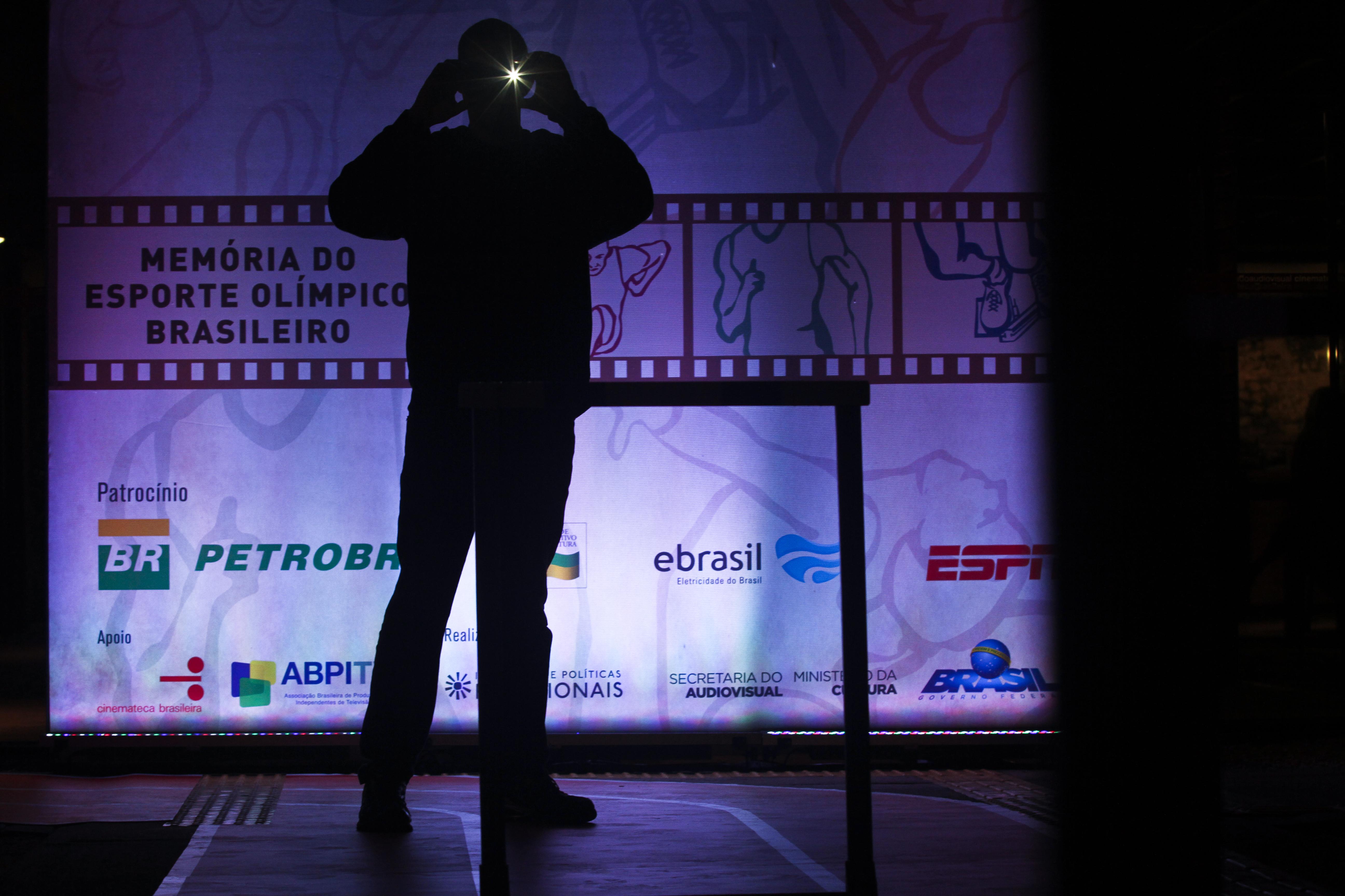 Cerimônia Memória do Esporte Olímpico Brasileiro_Cinemateca SP/2016